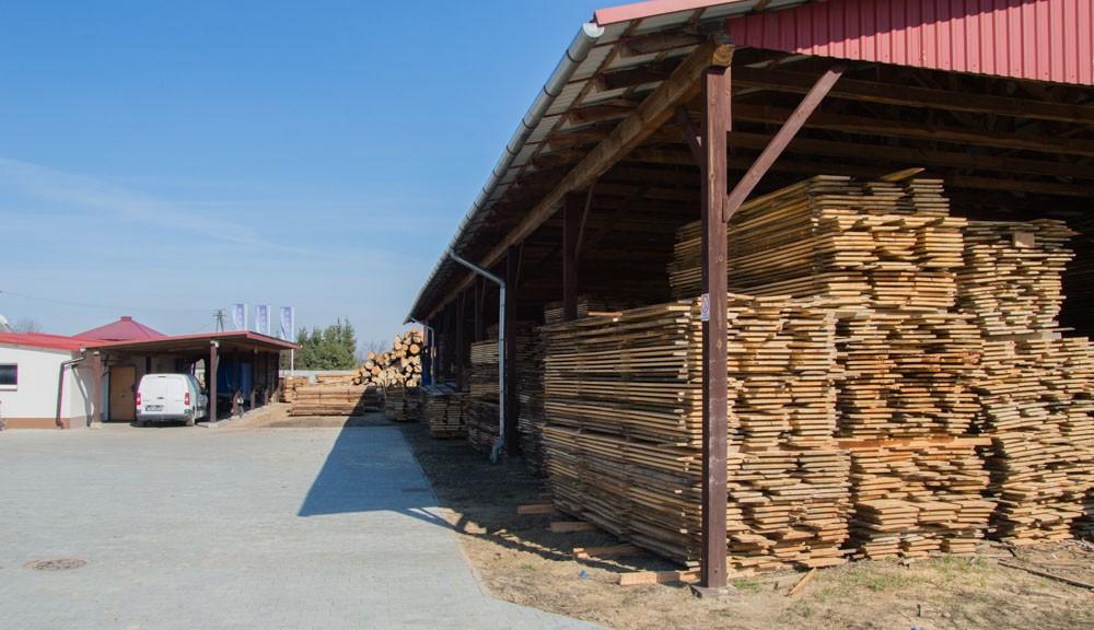 Naturalnie wysezonowane drewno